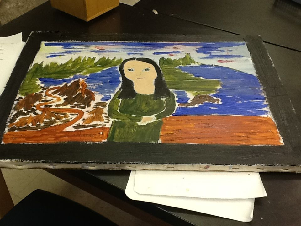Mona Lisa by Arie
